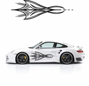 Pinstripe Pinstripes Car graphics Vinyl Decal Sticker Stickers MC139