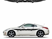 Pinstripe Pinstripes Car graphics Vinyl Decal Sticker Stickers MC142