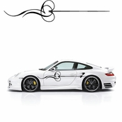 Pinstripe Pinstripes Car graphics Vinyl Decal Sticker Stickers MC161