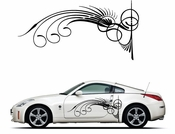 Pinstripe Pinstripes Car graphics Vinyl Decal Sticker Stickers MC165