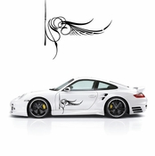 Pinstripe Pinstripes Car graphics Vinyl Decal Sticker Stickers MC167