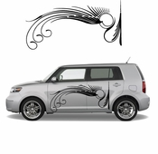 Pinstripe Pinstripes Car graphics Vinyl Decal Sticker Stickers MC173