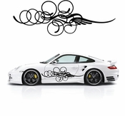 Pinstripe Pinstripes Car graphics Vinyl Decal Sticker Stickers MC179