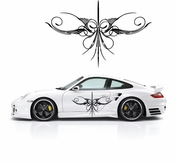 Pinstripe Pinstripes Car graphics Vinyl Decal Sticker Stickers MC195
