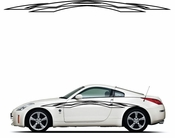 Pinstripe Pinstripes Car graphics Vinyl Decal Sticker Stickers MC198