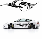 Pinstripe Pinstripes Car graphics Vinyl Decal Sticker Stickers MC199
