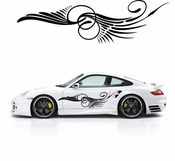 Pinstripe Pinstripes Car graphics Vinyl Decal Sticker Stickers MC201