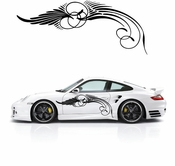 Pinstripe Pinstripes Car graphics Vinyl Decal Sticker Stickers MC203