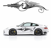 Pinstripe Pinstripes Car graphics Vinyl Decal Sticker Stickers MC205