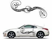 Pinstripe Pinstripes Car graphics Vinyl Decal Sticker Stickers MC207