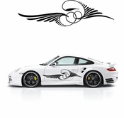 Pinstripe Pinstripes Car graphics Vinyl Decal Sticker Stickers MC209