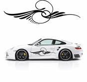 Pinstripe Pinstripes Car graphics Vinyl Decal Sticker Stickers MC211