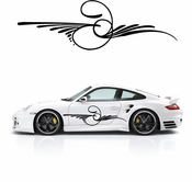 Pinstripe Pinstripes Car graphics Vinyl Decal Sticker Stickers MC213