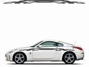 Pinstripe Pinstripes Car graphics Vinyl Decal Sticker Stickers MC214