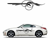 Pinstripe Pinstripes Car graphics Vinyl Decal Sticker Stickers MC215
