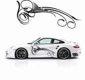 Pinstripe Pinstripes Car graphics Vinyl Decal Sticker Stickers MC223