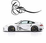 Pinstripe Pinstripes Car graphics Vinyl Decal Sticker Stickers MC227