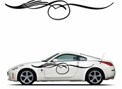 Pinstripe Pinstripes Car graphics Vinyl Decal Sticker Stickers MC245