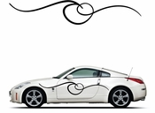 Pinstripe Pinstripes Car graphics Vinyl Decal Sticker Stickers MC247