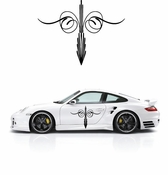 Pinstripe Pinstripes Car graphics Vinyl Decal Sticker Stickers MC251