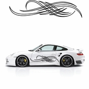 Pinstripe Pinstripes Car graphics Vinyl Decal Sticker Stickers MC252