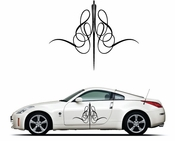 Pinstripe Pinstripes Car graphics Vinyl Decal Sticker Stickers MC255