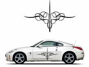 Pinstripe Pinstripes Car graphics Vinyl Decal Sticker Stickers MC257
