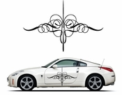Pinstripe Pinstripes Car graphics Vinyl Decal Sticker Stickers MC258
