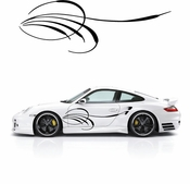 Pinstripe Pinstripes Car graphics Vinyl Decal Sticker Stickers MC259