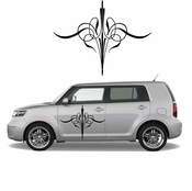 Pinstripe Pinstripes Car graphics Vinyl Decal Sticker Stickers MC260