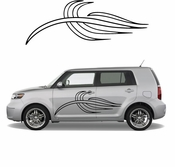 Pinstripe Pinstripes Car graphics Vinyl Decal Sticker Stickers MC261