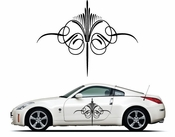 Pinstripe Pinstripes Car graphics Vinyl Decal Sticker Stickers MC262