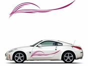 Pinstripe Pinstripes Car graphics Vinyl Decal Sticker Stickers MC263