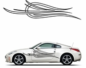 Pinstripe Pinstripes Car graphics Vinyl Decal Sticker Stickers MC265