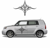 Pinstripe Pinstripes Car graphics Vinyl Decal Sticker Stickers MC272