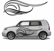Pinstripe Pinstripes Car graphics Vinyl Decal Sticker Stickers MC275