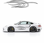 Pinstripe Pinstripes Car graphics Vinyl Decal Sticker Stickers MC277