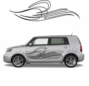Pinstripe Pinstripes Car graphics Vinyl Decal Sticker Stickers MC279
