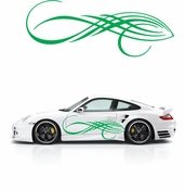 Pinstripe Pinstripes Car graphics Vinyl Decal Sticker Stickers MC281