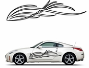 Pinstripe Pinstripes Car graphics Vinyl Decal Sticker Stickers MC283