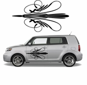 Pinstripe Pinstripes Car graphics Vinyl Decal Sticker Stickers MC286