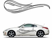 Pinstripe Pinstripes Car graphics Vinyl Decal Sticker Stickers MC289