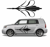 Pinstripe Pinstripes Car graphics Vinyl Decal Sticker Stickers MC294