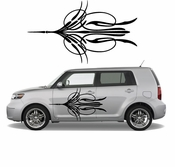 Pinstripe Pinstripes Car graphics Vinyl Decal Sticker Stickers MC296