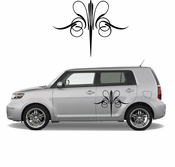 Pinstripe Pinstripes Car graphics Vinyl Decal Sticker Stickers MC300
