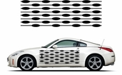 Pinstripe Pinstripes Car graphics Vinyl Decal Sticker Stickers MC301