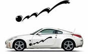 Pinstripe Pinstripes Car graphics Vinyl Decal Sticker Stickers MC303