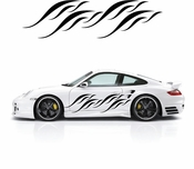 Pinstripe Pinstripes Car graphics Vinyl Decal Sticker Stickers MC307