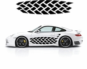 Pinstripe Pinstripes Car graphics Vinyl Decal Sticker Stickers MC311