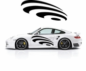 Pinstripe Pinstripes Car graphics Vinyl Decal Sticker Stickers MC313